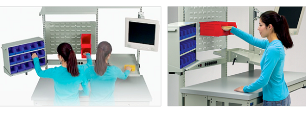 Ergonomics Horizontal and Vertical Reach Zones