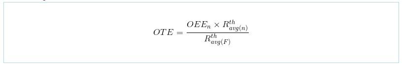 OTE calculation